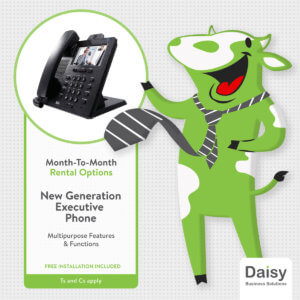 Month-to-month rental Executive Phone